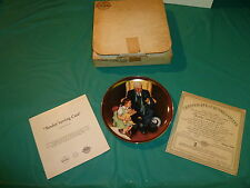 Norman Rockwells 'Tender Loving Care' By Knowles China, 1St Issue Of Series