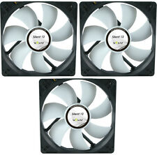 3 x GELID Solutions Silent 12 120mm Case Fans 1000 RPM, 37 CFM, 20.2 dBA