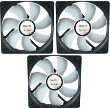 3x GELID Solutions Silent 12 120mm Alloggiamento Ventola 1000 RPM,37 CFM,20.2