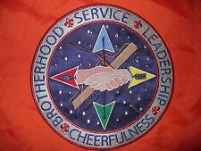 OA Echockotee Lodge 200 J-3, Ceremonies Team Jacket Patch,Earned,Jacksonville,FL