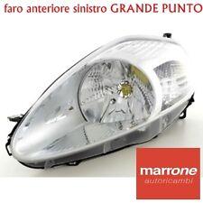FARO SINISTRO H4 7 PIN FIAT GRANDE PUNTO 2005 >08 PROIETTORE FANALE ANTERIORE SX