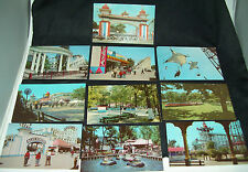 Riverview Amusement Park Chicago Postcard Memorabilia Lot of 10 Teich 1960s NM