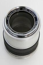 Topcon 135mm RE Auto-Topcor 13.5cm f3.5 Telephoto Lens  Tokyo Kogaku