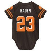 Joe Haden NFL Cleveland Browns Brown Home Infant Newborn Jersey (3M-9M)