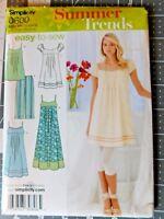 Simplicity Misses & Petite Dress 3 Lengths Tunic & Leggings #0600 Size 4-12