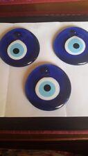 Glas Anhänger Blaues-Auge ca. 8cm verschiedenen Größen,Türkische Glücksbringer
