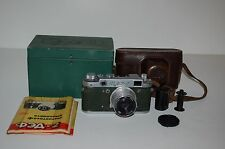 Fed-2 (Type B4) Vintage Genuine Green Rangefinder & Industar-26M.. BOXED. 425047