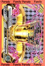 Archéodong TURBO 130pv 62/124 Carte Pokemon XY Impact des Destins Ultra neuve