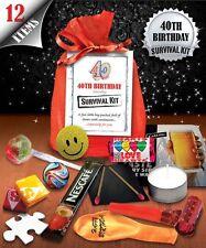 40th Birthday Survival Kit - Fun Novelty Gift