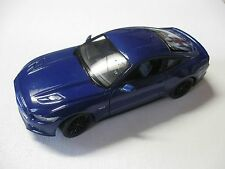 1:24 SCALE WELLY 2015 FORD MUSTANG GT 5.0 DIECAST CAR W/O BOX