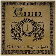 Cantus 1: Pagan Mediaeval folk CD 2010 Schandmaul Faun Qntal Sava