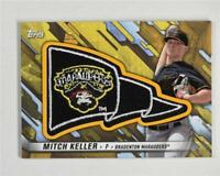 2017 Topps Pro Debut Pennant Patches Gold #PPMK Mitch Keller /50