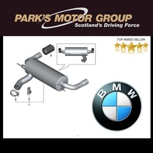 Genuine NEW BMW  M140i, M235 & M240 M Performance Exhaust/Carbon Tailpipes