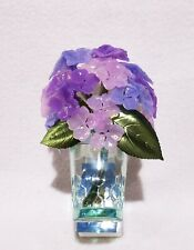 1 Bath & Body Works PURPLE HYDRANGEA BRANCH Wallflower Oil Warmer Plug Unit