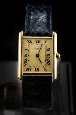 Cartier Tank Louis Vermeil Men's Watch Gold Plated - 2413