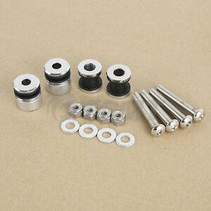 Docking Hardware Kit For 2000-17 Harley Softail Detachable Sissy Bar Solo Rack