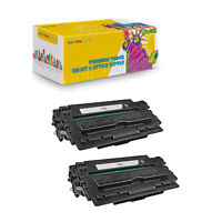 2PK Compatible Q7516A Black Toner Cartridge For HP LaserJet 5200 5200DTN 5200DTN