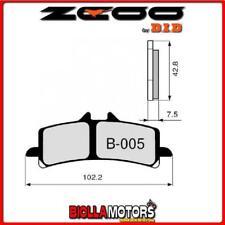45B00501 PASTIGLIE FRENO ZCOO (B005 EX C) SUZUKI GSX-R 750 2015 (ANTERIORI)