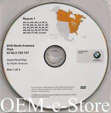2003 2004 2005 2006 2007 2008 BMW X3 Z4 Navigation DVD EAST Coast Map Update OEM