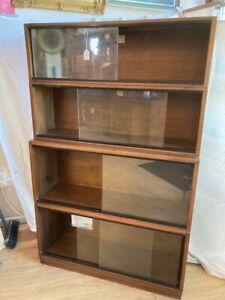 Oak stacking bookcase #84