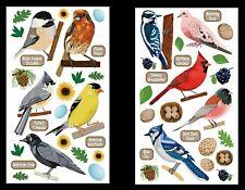 U Choose Sticko Top Us Birds Stickers Egg Cardinal Woodpecker Blue Jay Dove Crow