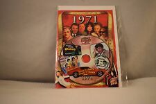 Flickback Greeting or Birthday Card With DVD  For Those Born in 1971    (v417)