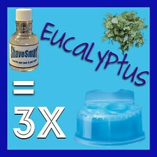 3 Eucalyptus Braun Clean & Renew Cartridge Refills, Syncro, Activator, And Flex