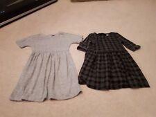 Girl's Warm Winter Dresses.Age 5 Baby Gap and Tu