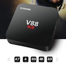 Scishion V88 Android Smart TV Box 1GB+8GB RK3229 Quad-Core HD 4K Media Player