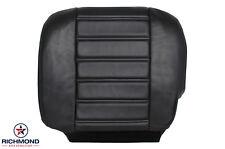2003-2007 Hummer H2 SUV TV/DVD Bose -Driver Side Bottom Leather Seat Cover Black