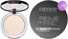 Catrice Prime And Fine Mattifying Setting Powder Waterproof Translucent