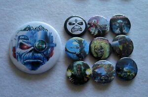 Iron Maiden Job Lot  10 x Badges  #10