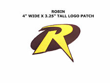 SUPERHERO SUPER HERO BATMAN ROBIN EMBROIDERY IRON ON PATCH BADGE