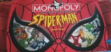 Spider-Man Edition Monopoly Board Game Replacement Parts & Pieces 2002 Marvel