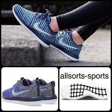 R83 Para Mujer Nike Roshe dos Flyknit Zapatillas Reino Unido 3.5 EUR 36.5 US 6 844929-401