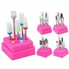 7PCS Ceramic Nail Drill Bits Set Electric File Manicure Pedicure Nails Art Tool
