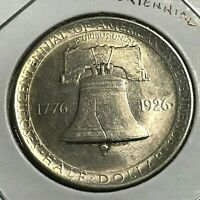 1926 SESQUICENTENNIAL  SILVER COMMEMORATIVE HALF DOLLAR HIGH GRADE