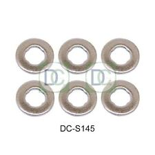 BMW 530 D (E39) 184 HP Common Rail Bosch Diesel Injector Washers Seals Pack of 6