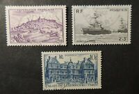 France 1946 luxembourg palace naval charities ships vezeley used
