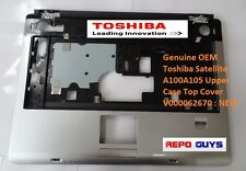 Genuine OEM Toshiba Satellite A100A105 Upper Case Top Cover V000062670 : NEW