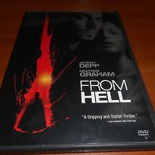 From Hell (DVD, 2007, 2-Disc Limited Edition Widescreen) Johnny Depp Used