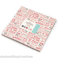 "Moda FABRIC Layer Cake ~ FIRST CRUSH ~ by Sweetwater - 10"" squares"