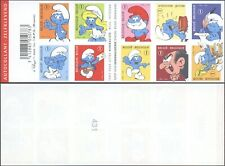 Belgium 2008 - Imperforate Booklet - Mint Stamps Smurf Cartoon D1753