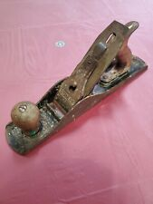 New ListingStanley Bailey No 5 Plane Type 17 Smooth Bottom 1942-45 Barn Find Original Rusty