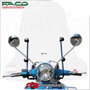 PARABREZZA ALTO COMPLETO FACO PIAGGIO VESPA PX 125 - 150 - 200 ARCOBALENO