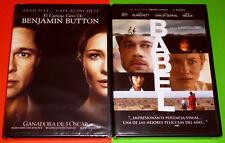 BABEL + EL CURIOSO CASO DE BENJAMIN BUTTON / THE CURIOUS CASE OF BENJAMIN BUTTON