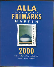 SWEDEN 2000 OFFICIAL BOOKLET YEARSET