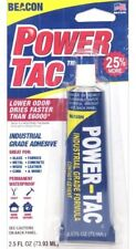 Beacon POWER-TAC Clear Craft Glue Safer Than E6000 xtra Strong Makers Of Gem Tac