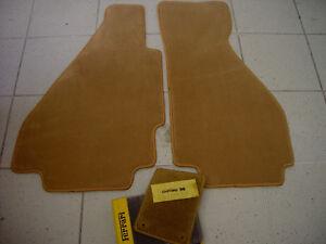 Classic Brown Velours Floormats for Ferrari 328 GTB 1985-1989