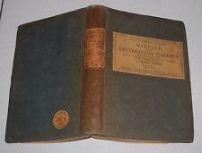 D'Ancona Bacci MANUALE DELLA LETTERATURA ITALIANA Volume II - 1936 Barbera